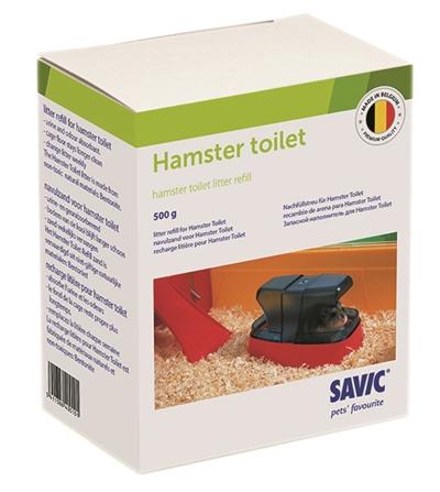 Savic hamstertoilet navulling