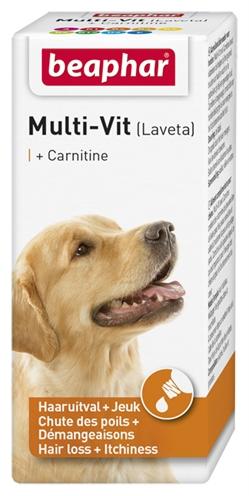 Beaphar multi-vit laveta + carnitine hond
