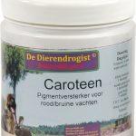 Dierendrogist caroteen pigmentversterker