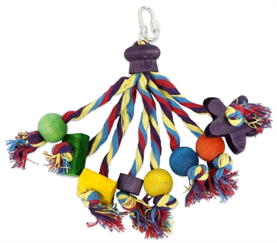 Happy pet speelgoed papegaai carnival assorti