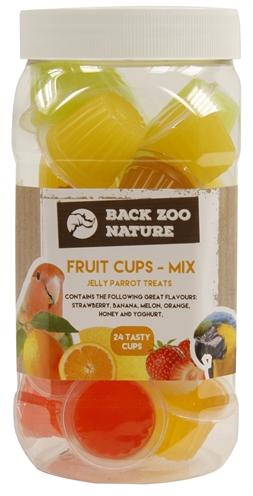 Back zoo nature fruitkuipje mix papegaai