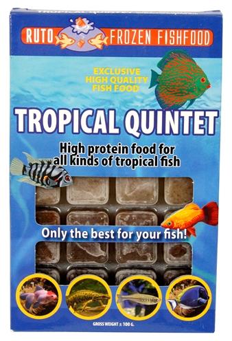 Ruto blue label tropical quintet