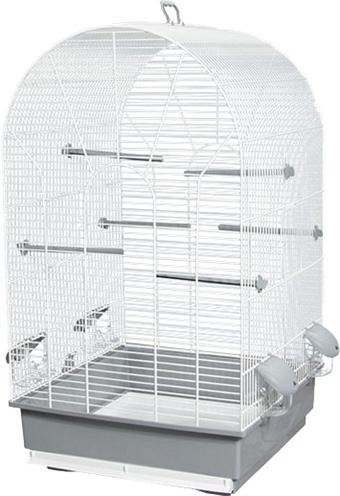 Voltrega vogelkooi 601 wit / grijs