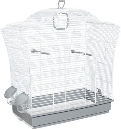 Voltrega vogelkooi 621 wit / grijs