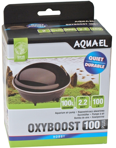 Aquael luchtpomp oxyboost 100 plus