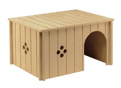 Ferplast knaaghuis sin 4647 hout