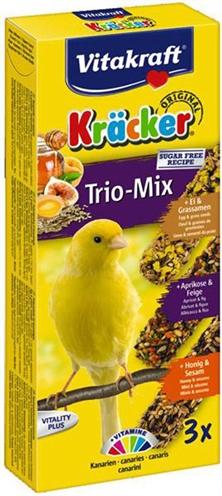 Vitakraft kanarie kracker honing/fruit/ei