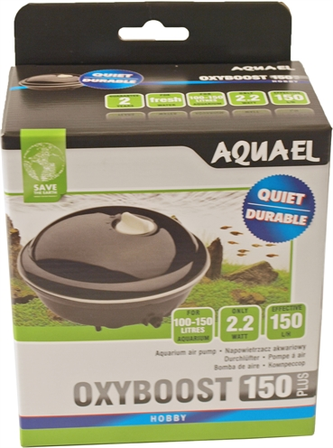 Aquael luchtpomp oxyboost 150