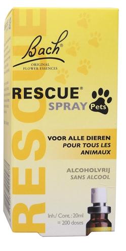 Bach rescue spray pets