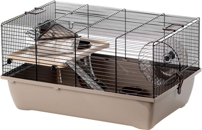 Interzoo hamsterkooi pinky1 mocca