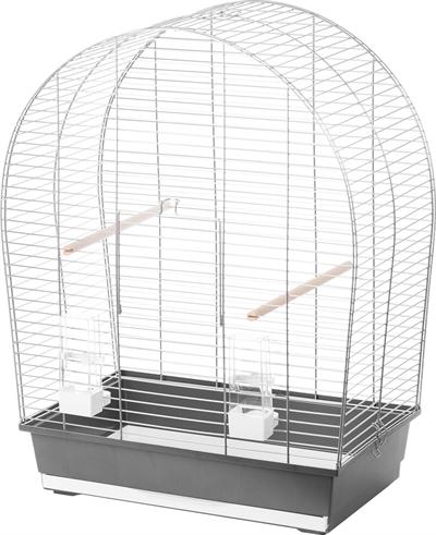 Interzoo vogelkooi sylwia zilver / grijs