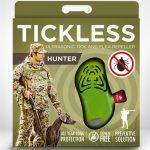 Tickless teek en vlo afweer voor jagers groen