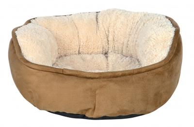 Trixie hondenmand othello bruin / beige