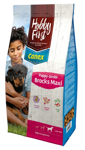 Hobbyfirst canex puppy/junior brocks maxi