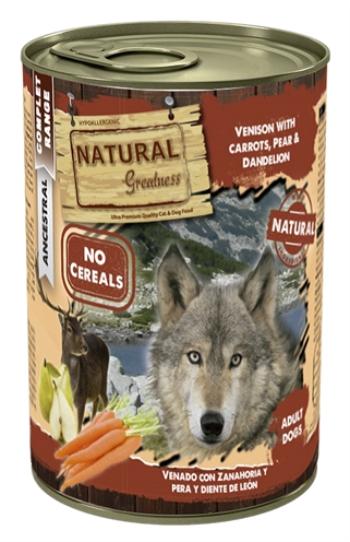 Natural greatness venison / carrots