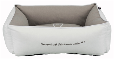 Trixie petshome hondenmand wit/taupe