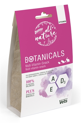 Bunny nature botanicals vitamin multi-vitamine snack