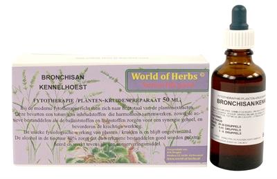 World of herbs fytotherapie bronchisan kennelhoest