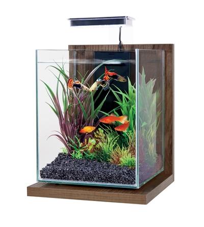 Zolux aquarium kit jalaya walnut bruin