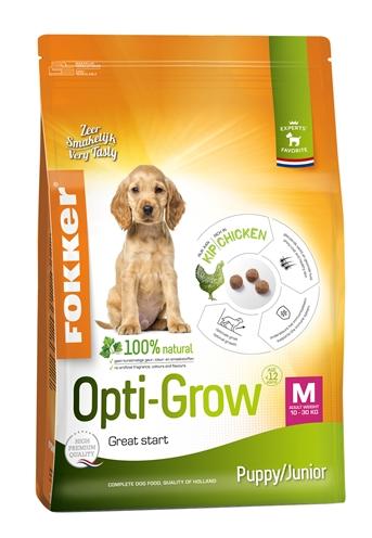 Fokker opti-grow puppy / junior medium