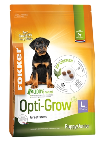 Fokker opti-grow puppy / junior large