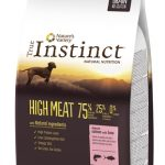 True instinct high meat medium adult salmon / tuna