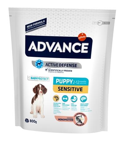 Advance puppy sensitive