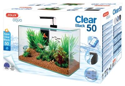 Zolux aquarium clear kit zwart