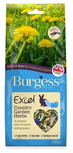 Burgess excel snacks country garden kruiden