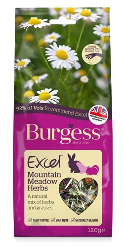 Burgess excel snacks bergweide kruiden