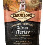 Carnilove salmon / turkey puppies large breed