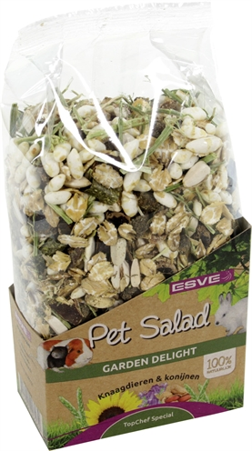 Esve pet salad garden delight