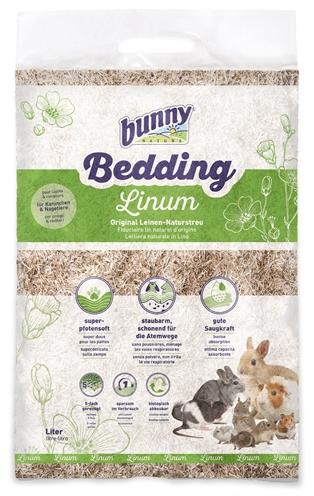 Bunny nature bunnybedding linum vlasvezel