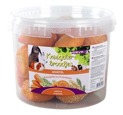 Esve wortelbroodjes