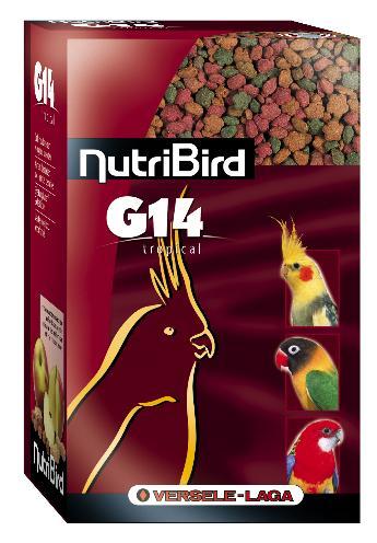 Nutribird tropical g14 onderhoudsvoeder