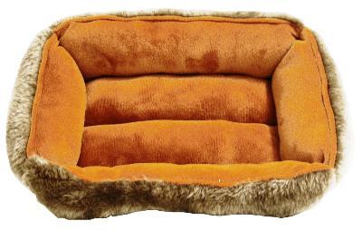 Knaagdier divan luxe bruin/lichtbruin