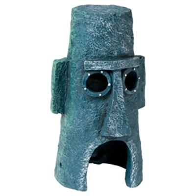 Ornament spongebob moai-huis octo grijs
