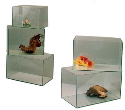 Aquarium gelijmd