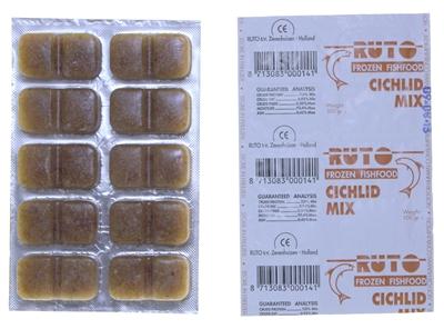 Ruto blue label cichlid mix