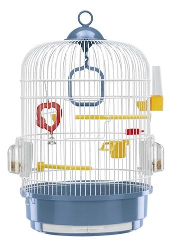 Ferplast vogelkooi regina blauw / wit