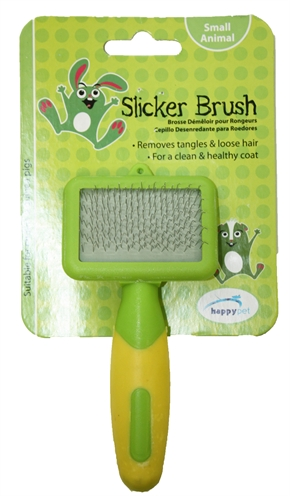Happy pet knaagdier slicker brush