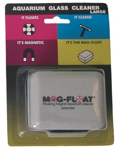 Mag-float algenmagneet vierkant voor glas tot 20 mm