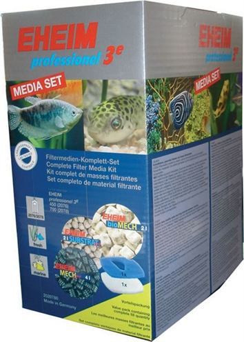 Eheim professional 3e filtermedia set voor pomp 2076/2078