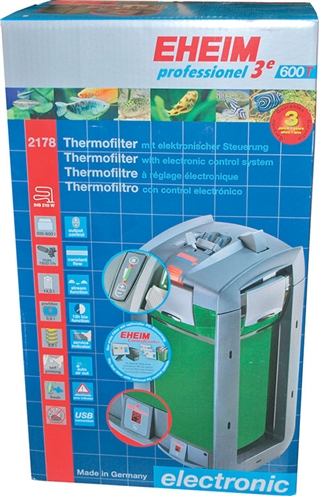 Eheim professional 3e 600t buiten-thermofilter met filtermassa