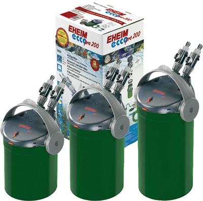 Eheim ecco pro 200 buitenfilter met filtermassa