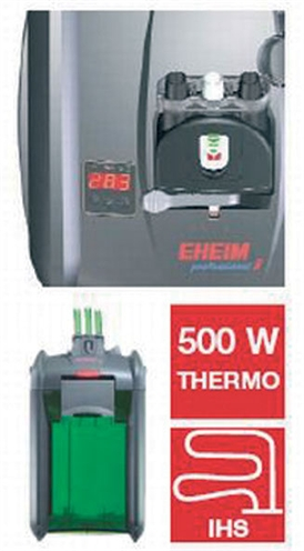 Eheim professional 3 1200 xlt buiten-thermofilter zonder filtermassa