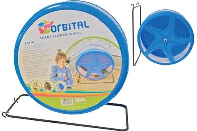 Savic orbital silent hamstermolen blauw