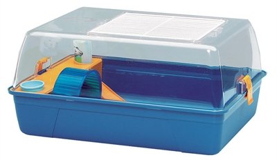 Savic plastic kooi rody hamster blauw