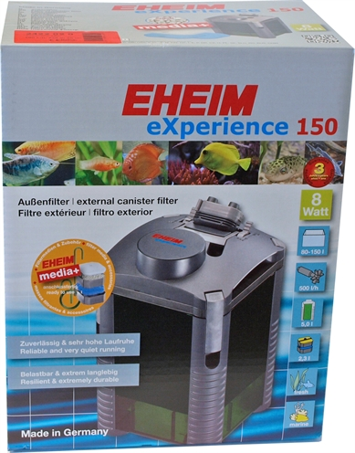 Eheim filter experience 150 met massa
