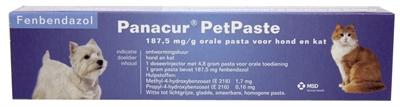 Panacur pet pasta injector